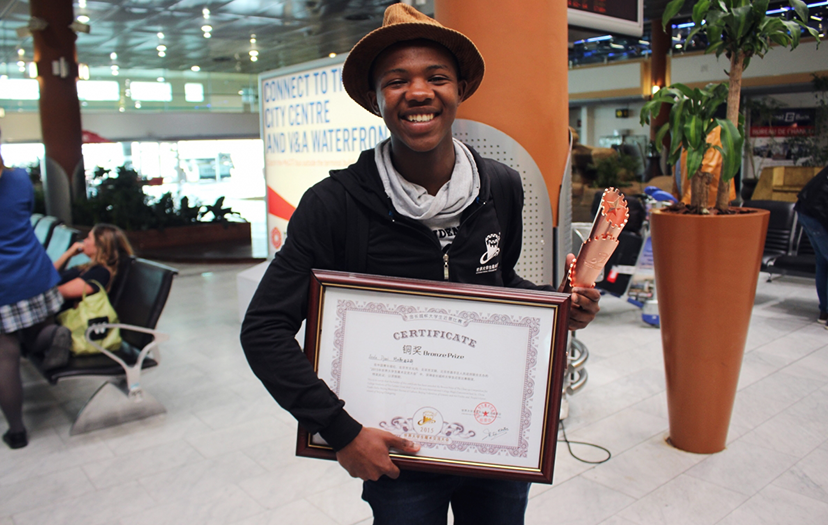 Teenage Township Magician wins at International College Magic Convention in China, heads back home to take gold in SA!