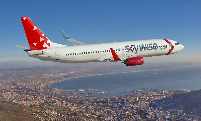 """SKYWISE AIRLINES OFFERS FIRST-EVER """"UNLIMITED FLYING""""SUBSCRIPTION BETWEEN CAPE TOWN AND JOHANNESBURG"""