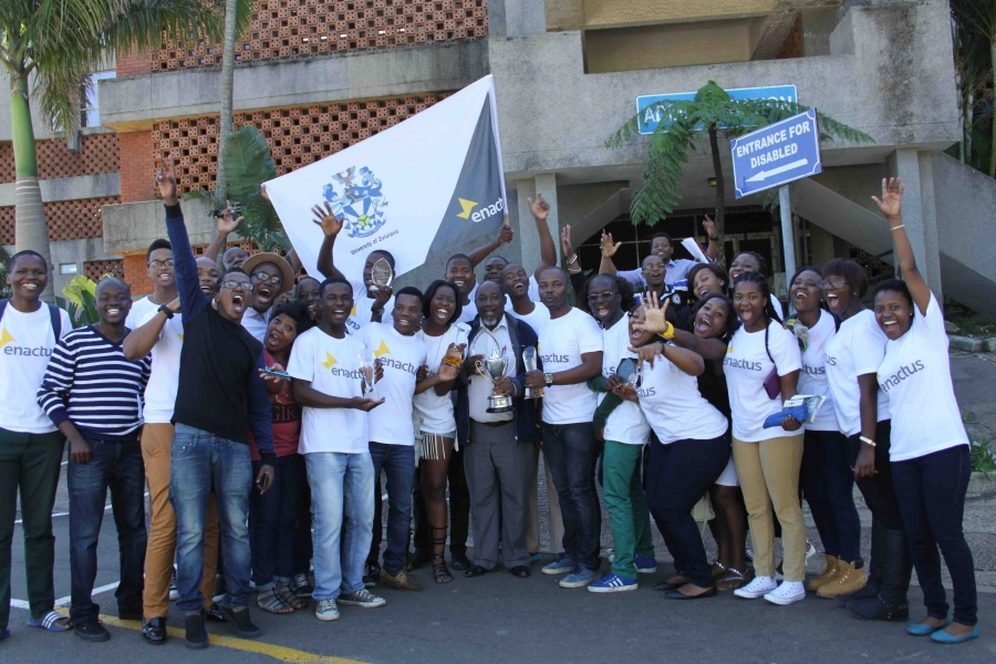 Team South Africa represented by the University of Zululand