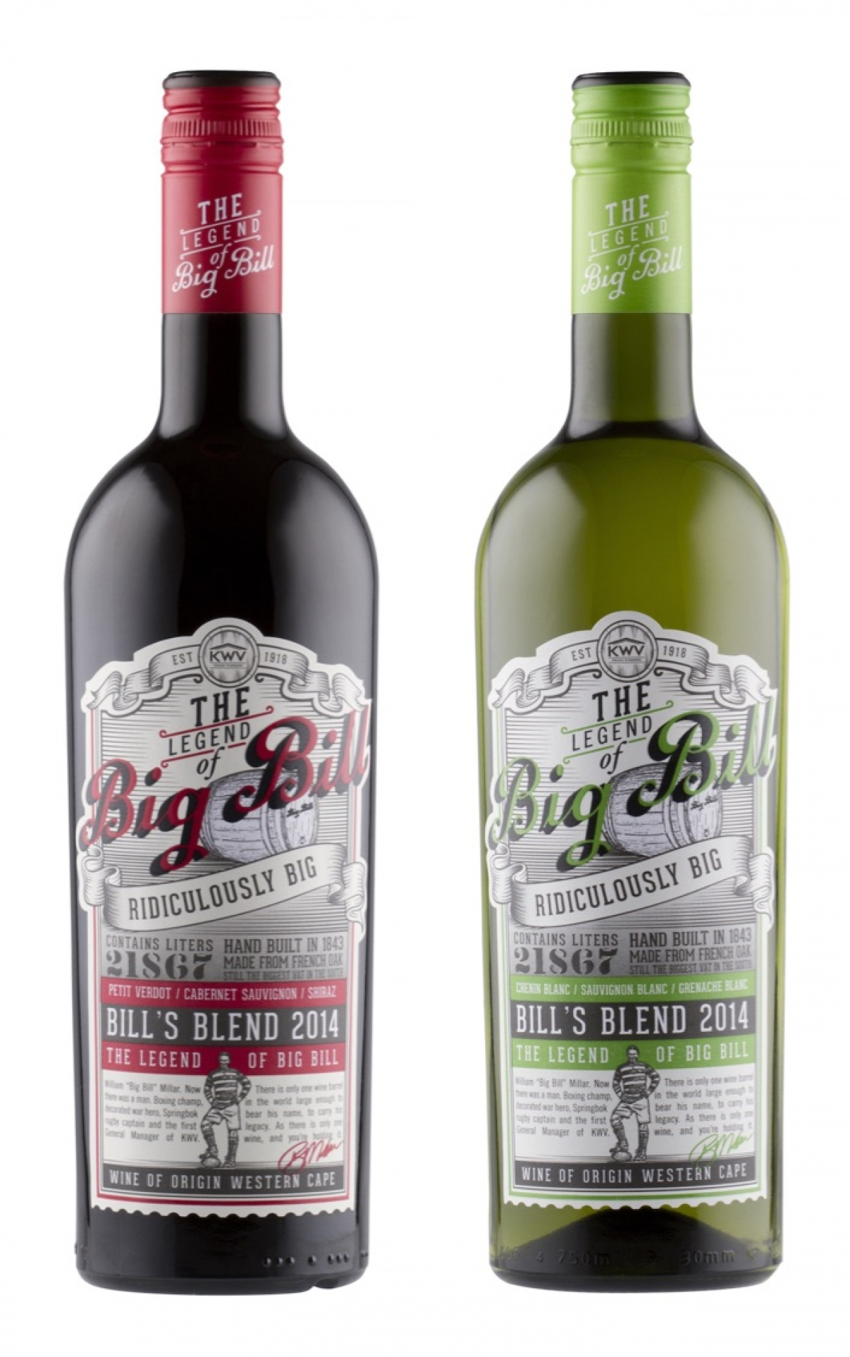 Larger Than Life 'Big Bill' Wine Brand Launches