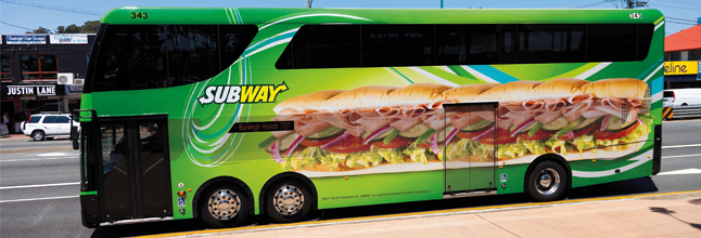 Transit Ads™ harnesses the power of Bus Advertising
