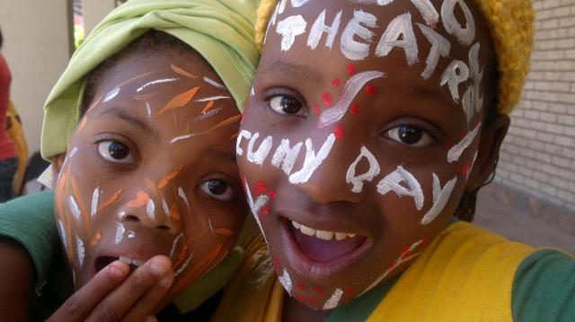 """""""Take a Child to the Theatre Today"""" celebrated in South Africa during March."""