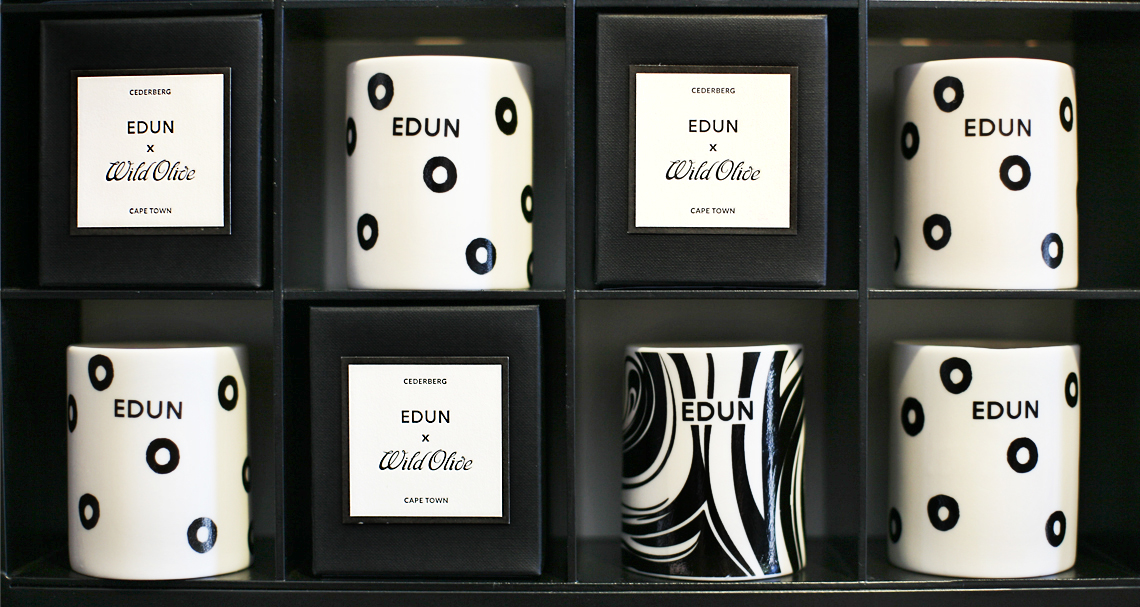 South African beauty brand, Wild Olive African Artisan Apothecary & Artistic Perfumery House collaborates with LVMH brand, Edun