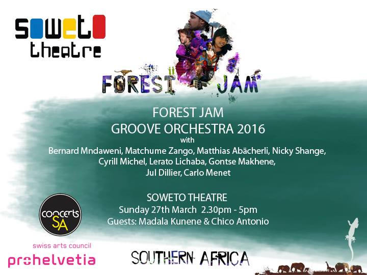FOREST JAM GROOVE ORCHESTRA Tour 2016