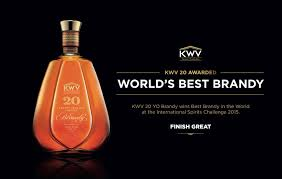 KWV Wins 'World's Best Producer' Trophy and 'World's Best Brandy' at ISC
