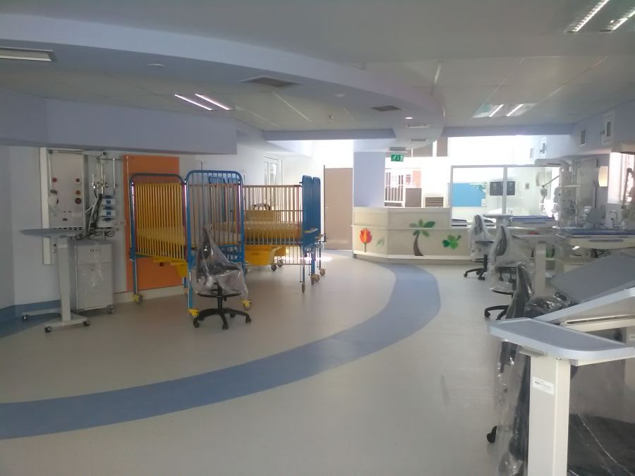 Polyflor Partners With Carte Blanche To Makes A Difference At Sebokeng Hospital