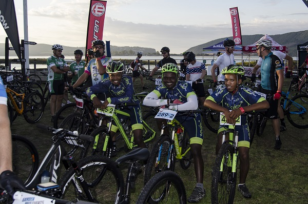 Choice selection of venues for Knysna race