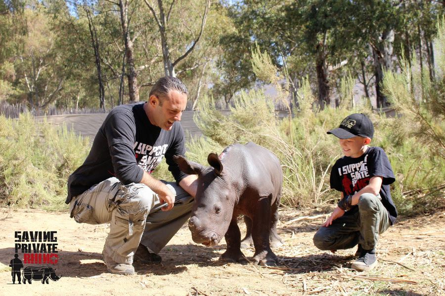 First orphan arrives at new Western Cape rhino orphanage