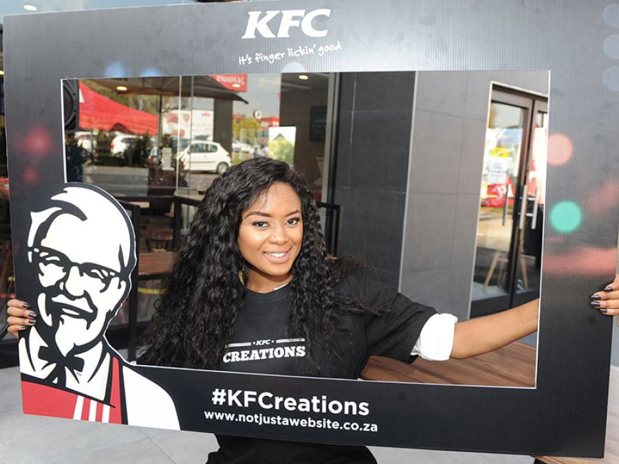 Not just a burger…Not just a lunch hour #KFCreations