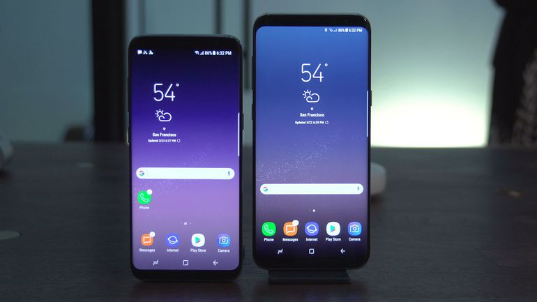 Excitement over the Samsung Galaxy S8 launch