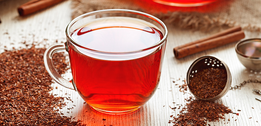 Rooibos tea-drinkers less likely to suffer from heart disease