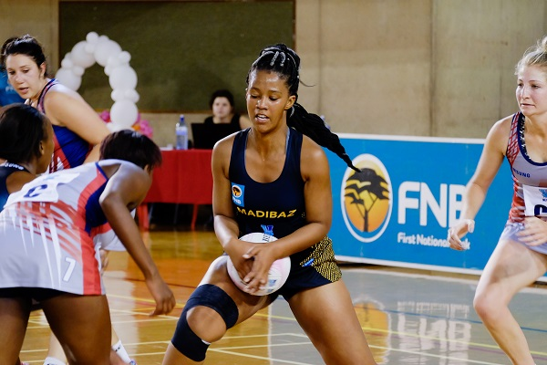Madibaz on the charge in Varsity Netball tournament