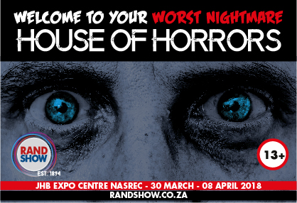 Rand Show launches inaugural House of Horrors
