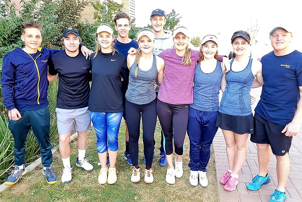 Madibaz tennis team back in USSA top division