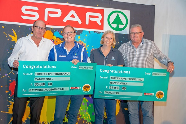 SPAR golf day provides a boost for marine life