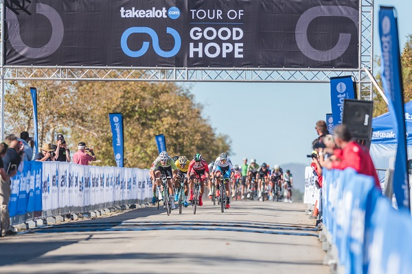 Basson wins battle of the sprinters at Tour of Good Hope