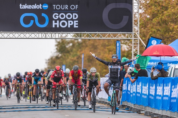 Hoffman surges to stage win in Tour of Good Hope