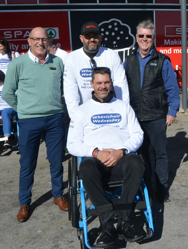 Youth involvement was highlight of Wheelchair Wednesday
